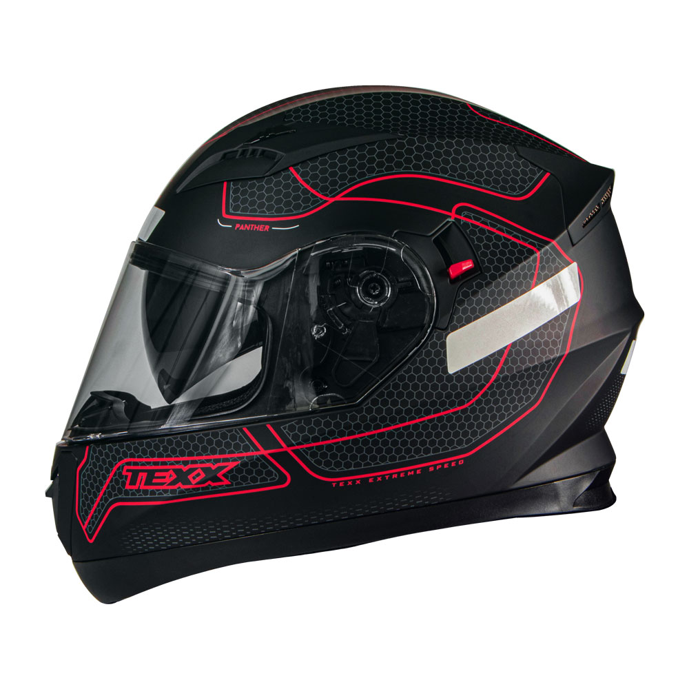 CAPACETE TEXX G2 PANTHER VERMELHO 62
