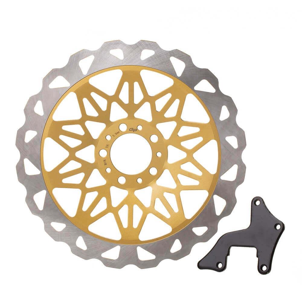 DISCO FREIO DIANTEIRO GP CG 150 /2008 (OVER SIZE 320MM)