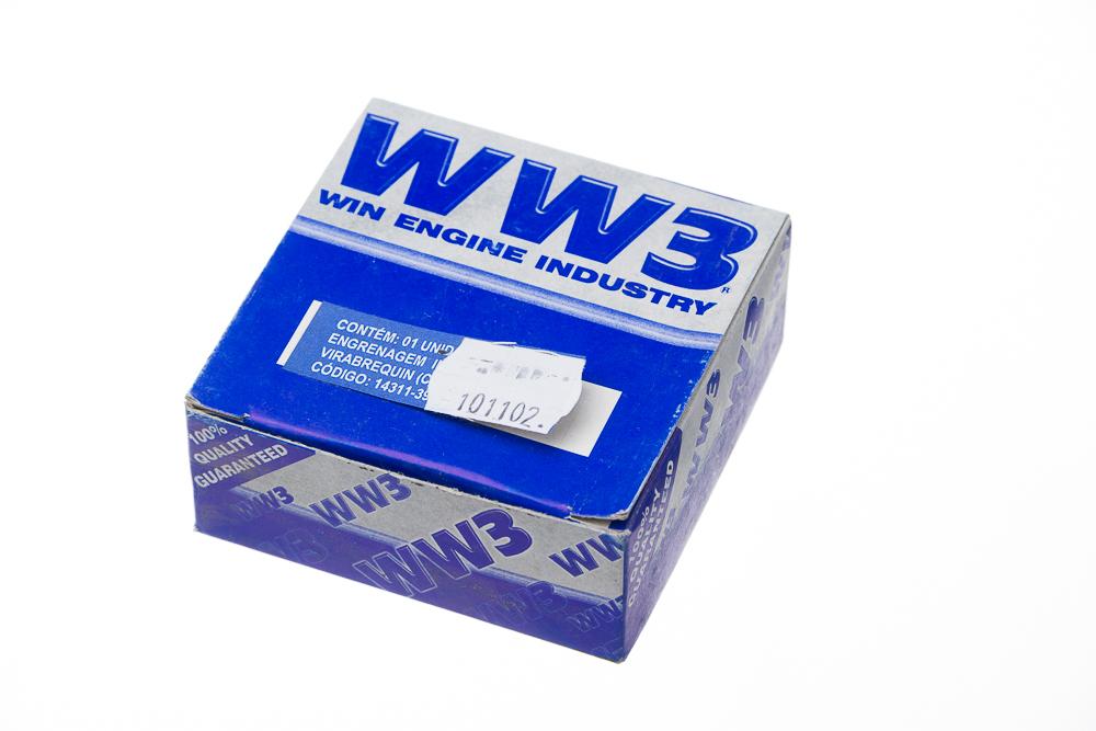 ENGRENAGEM INFERIOR VIRABREQUIN WW3 (COMANDO) CG /82
