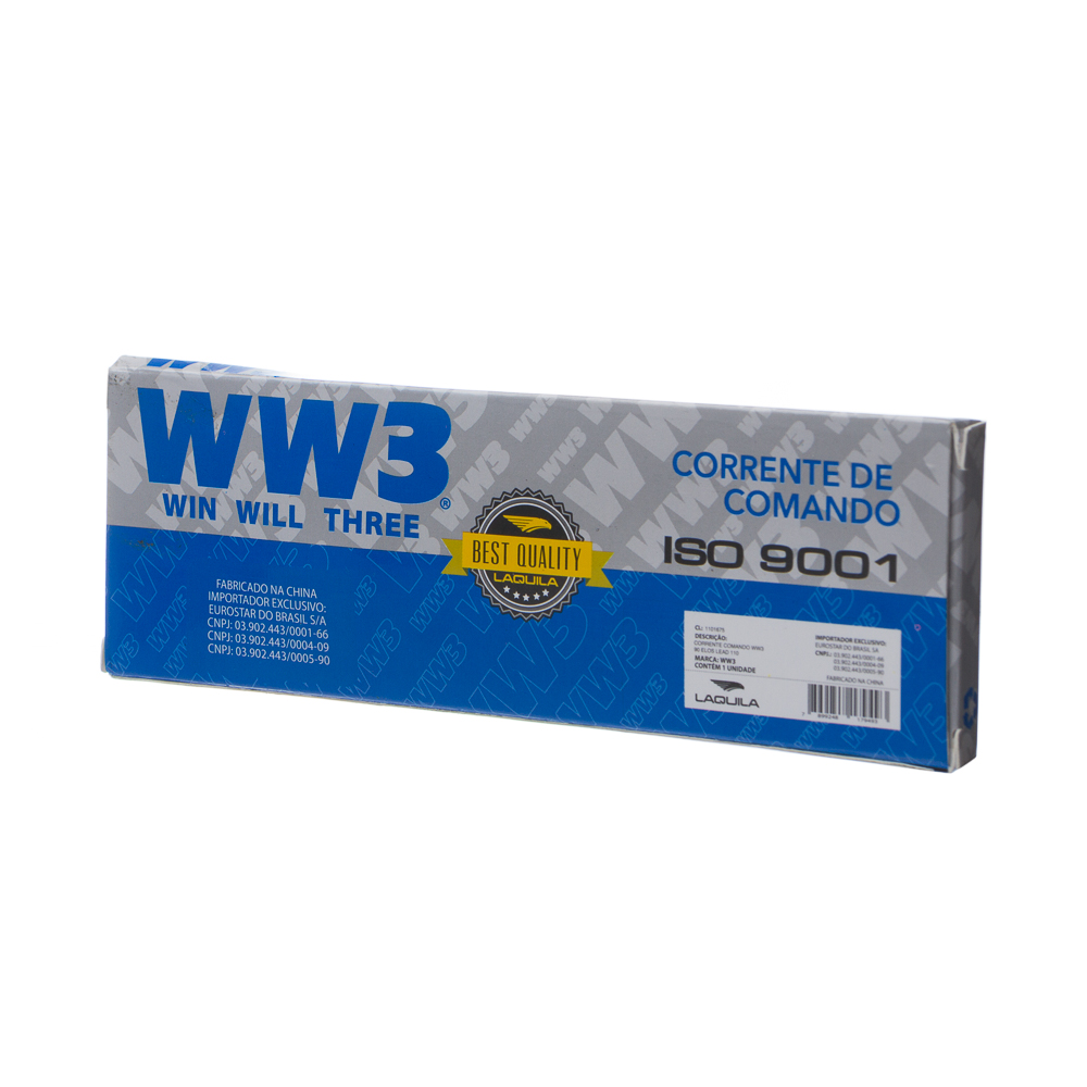 CORRENTE COMANDO WW3 90 ELOS YBR 125 2006/ FACTOR/LEAD 110