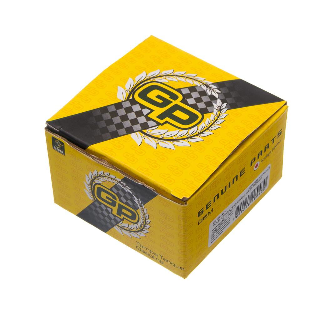 TAMPA TANQUE GASOLINA GP CROMADA CG 125 TITAN.