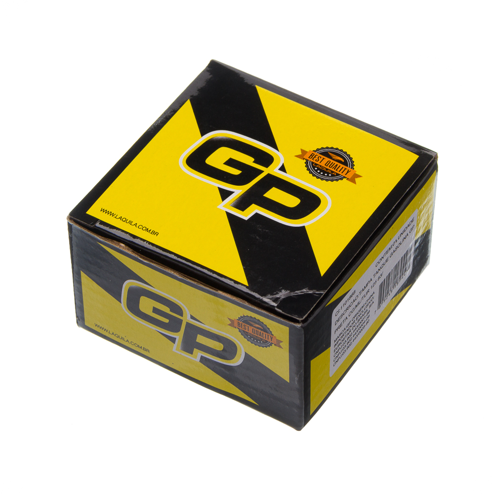 TAMPA TANQUE GASOLINA GP PRETA CG/ML/TUR 125 83/