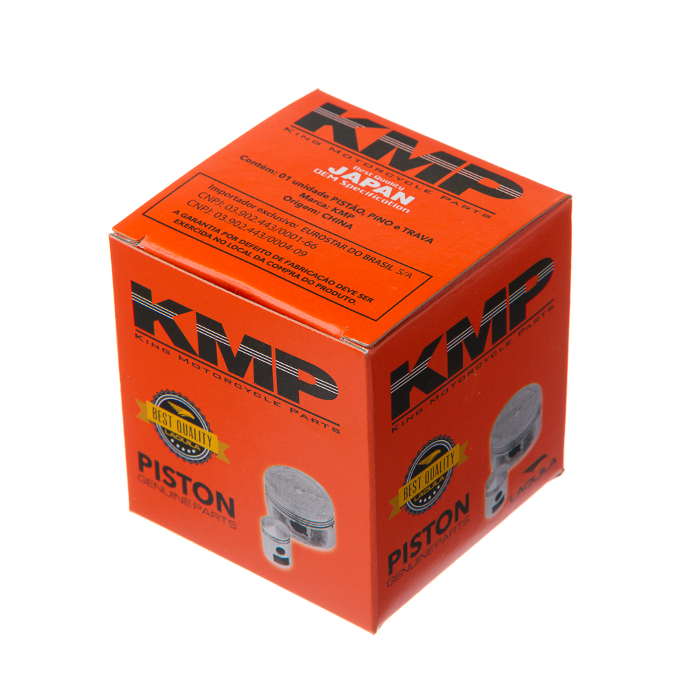 PISTAO PINO/TRAVA KMP CG/BROS 160 2.00
