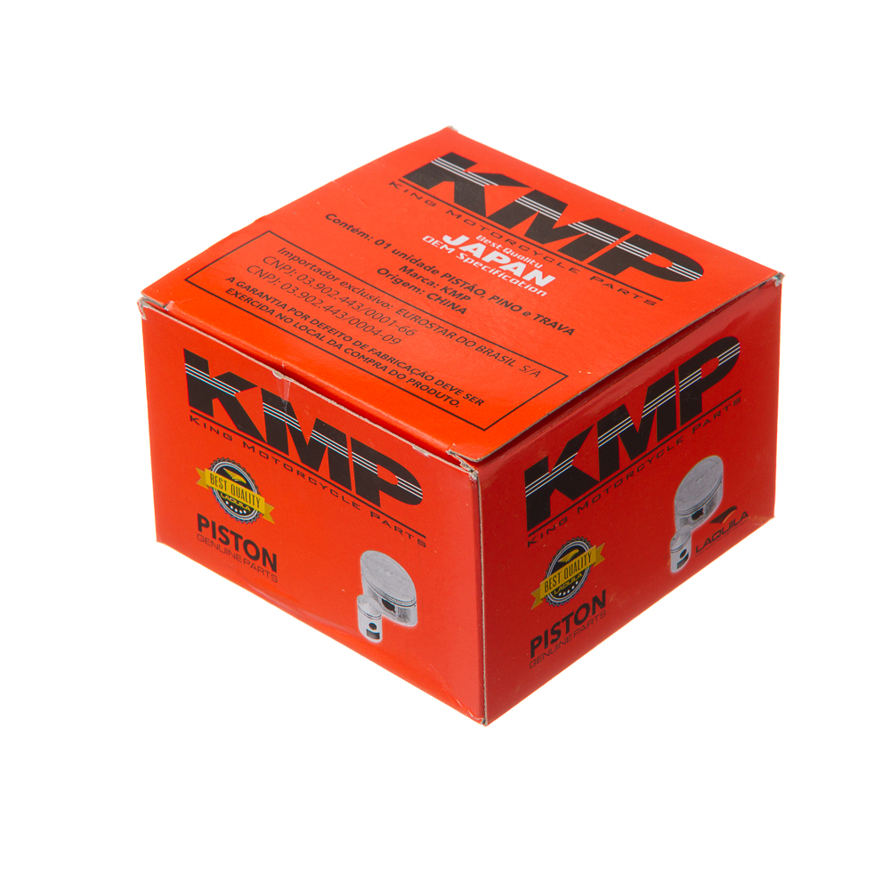 PISTAO KIT C/ANEL KMP XT 225 0.75
