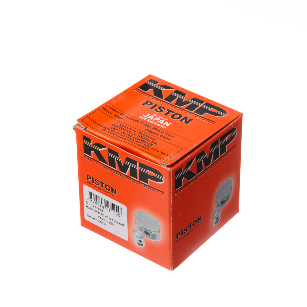 PISTAO KIT C/ANEL KMP FAZER 150  STD
