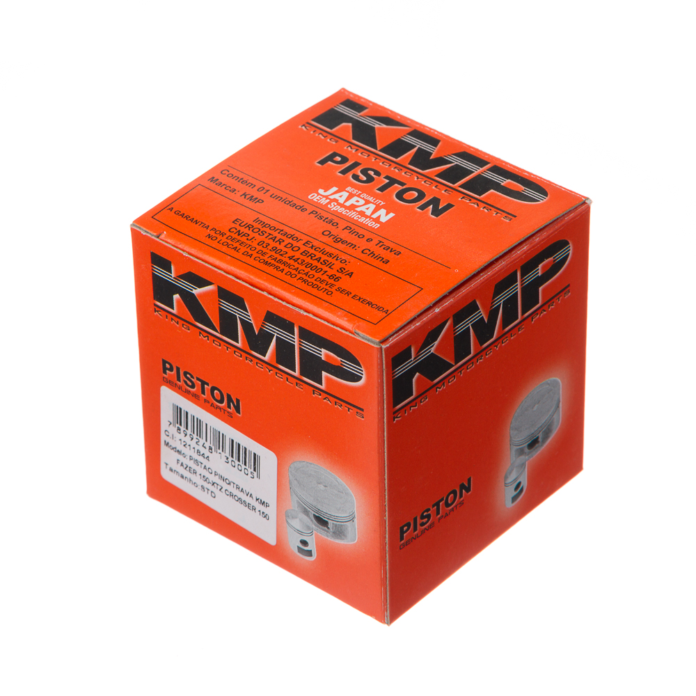 PISTAO PINO/TRAVA KMP FAZER 150 – XTZ CROSSER 150 0.50