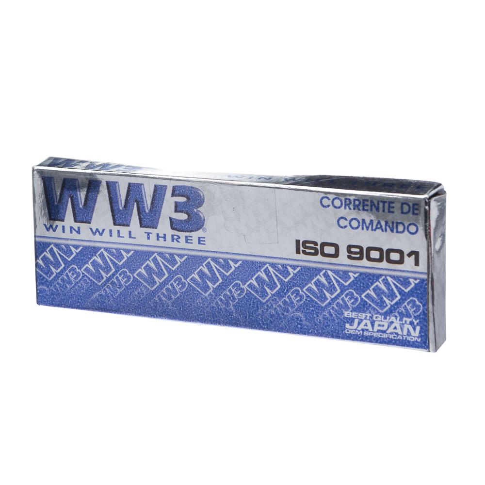 CORRENTE COMANDO WW3 124 ELOS NINJA 250 R 09/