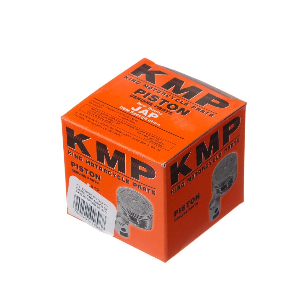 PISTAO KIT C/ANEL KMP AKROS 90 /AXIS 90/ SPEED 90 0.50
