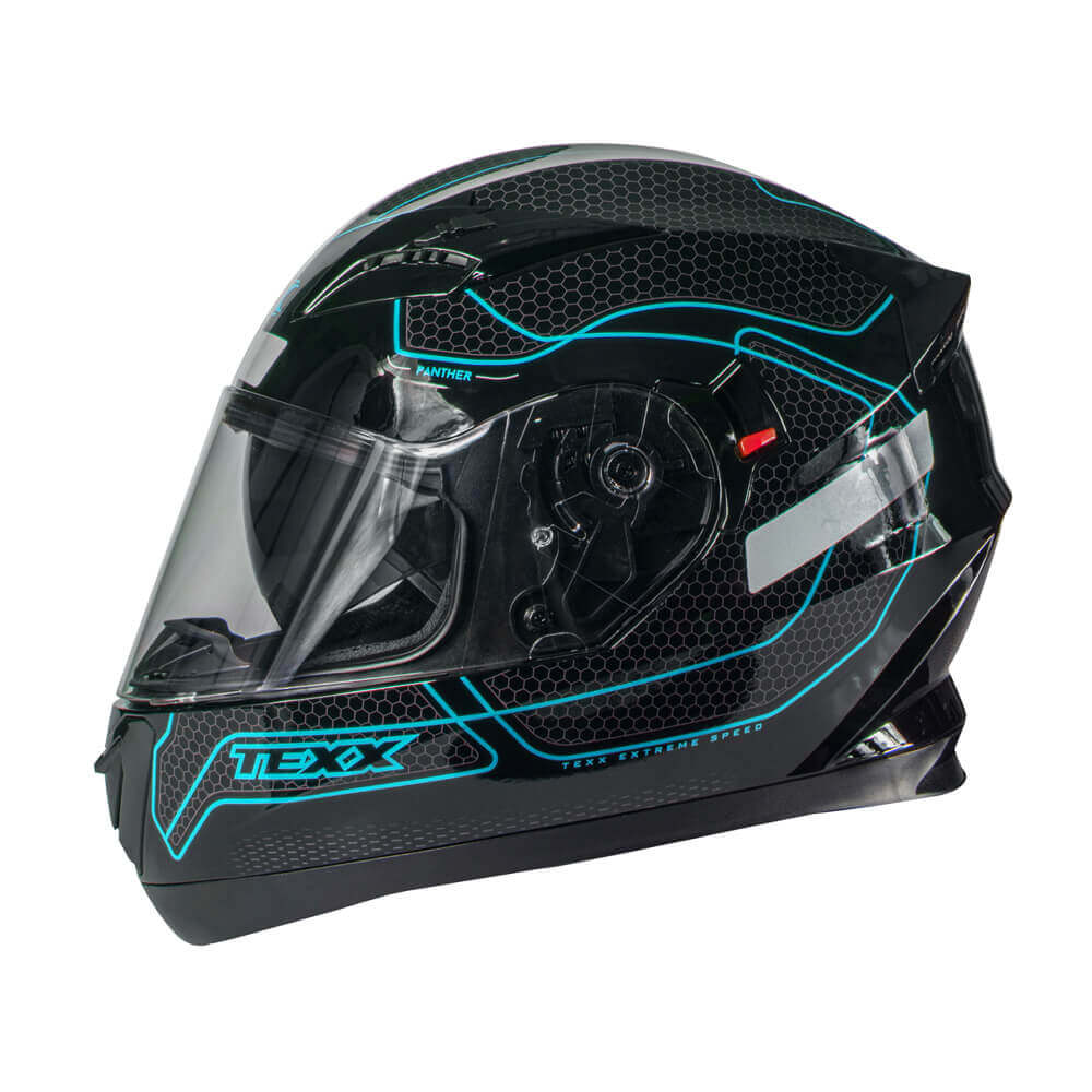 CAPACETE TEXX G2 PANTHER AZUL 54